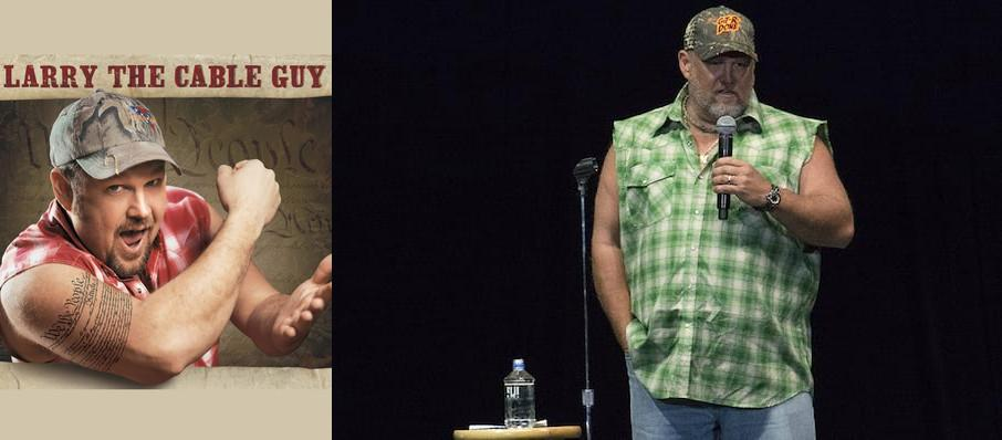 Larry The Cable Guy at Weidner Center For The Performing Arts