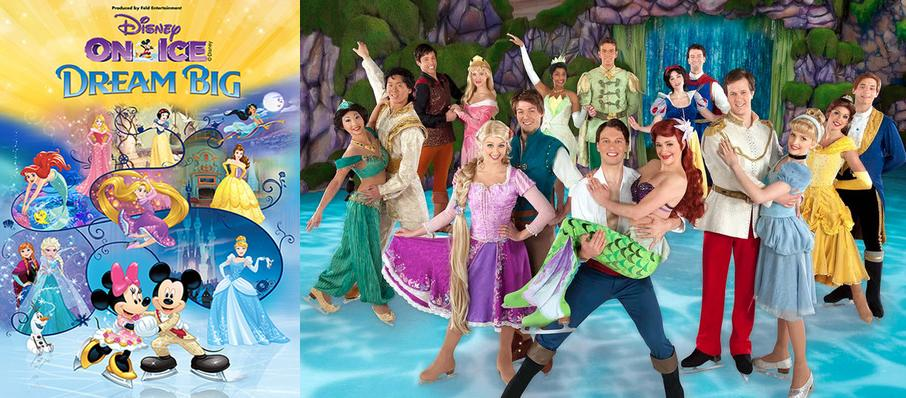 Disney On Ice: Dream Big at Resch Center