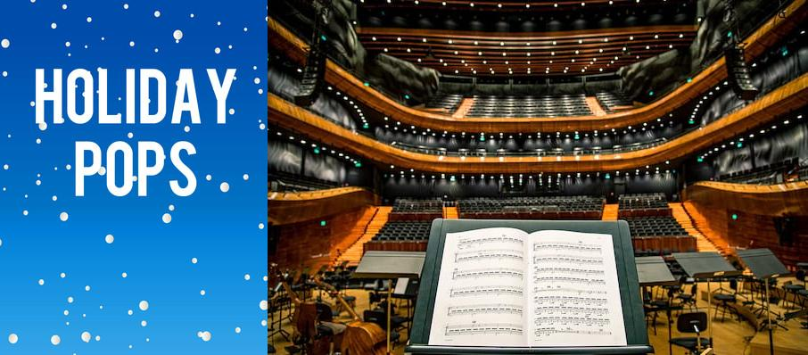 Holiday Pops at Weidner Center For The Performing Arts
