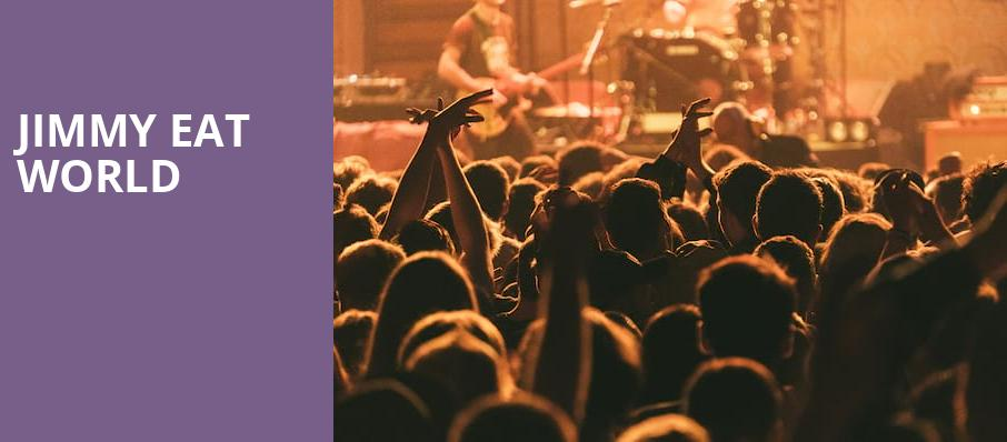 Jimmy Eat World, Meyer Theatre, Green Bay
