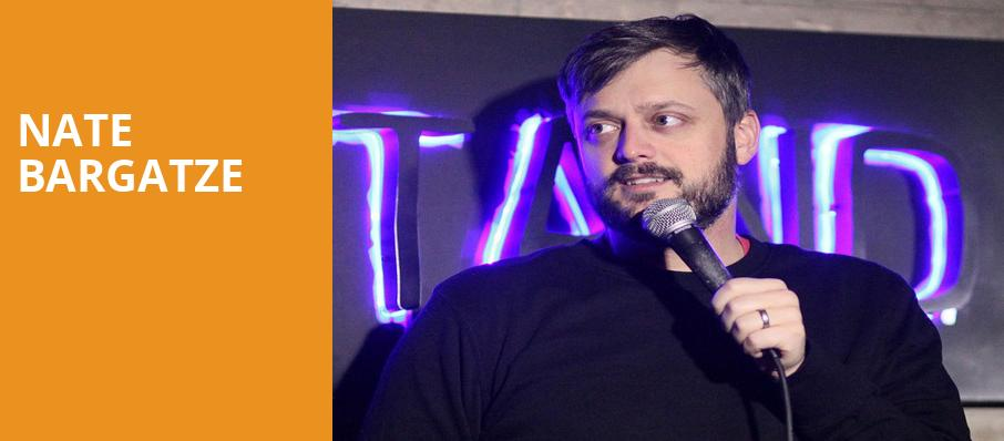 Nate Bargatze, Weidner Center For The Performing Arts, Green Bay