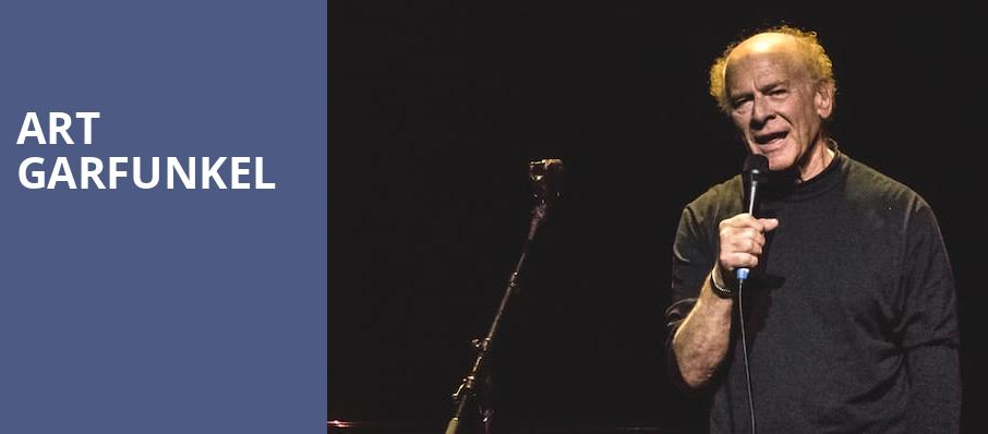 Art Garfunkel, Meyer Theatre, Green Bay